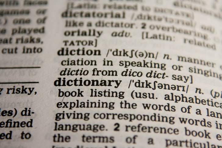 英英辞典で構文になれる