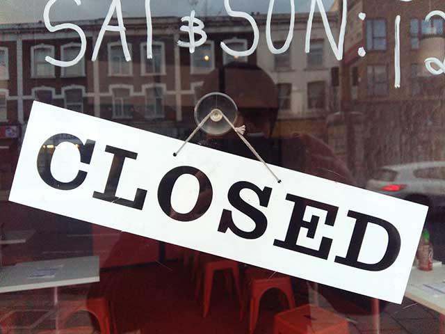 海外旅行で気をつけること:閉店時間のチェック