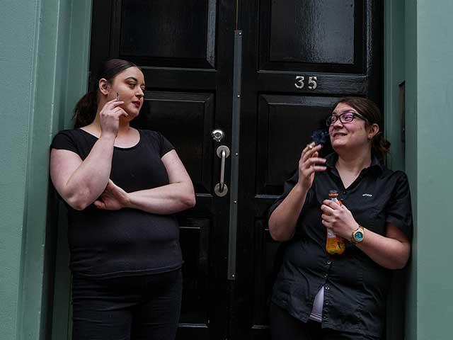 同性の呼び方:女友達