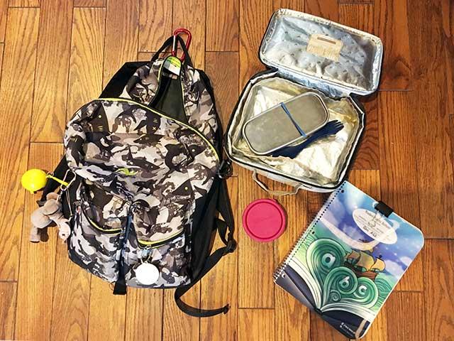 北アメリカと日本の学校の違い:学校への持ち物