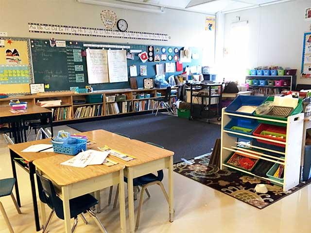 北アメリカと日本の学校の違い:クラスの様子