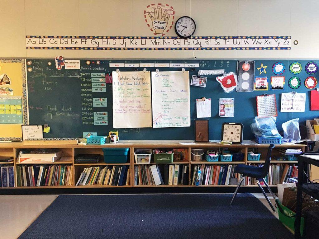 北アメリカと日本の学校の違い
