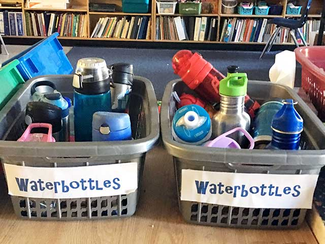 北アメリカと日本の学校の違い:水筒