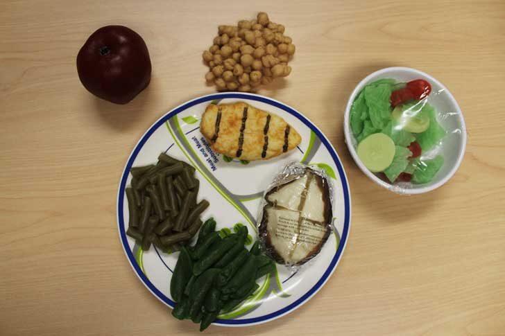 健康的なランチプログラム