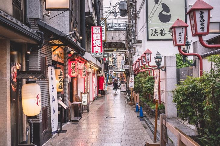 日本の街角