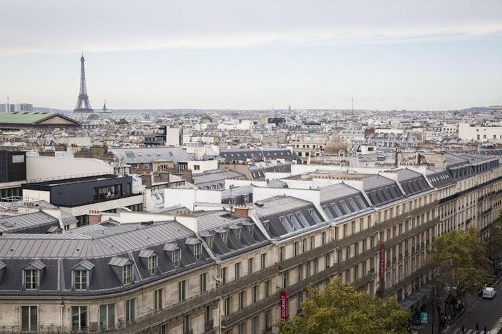 パリの屋上