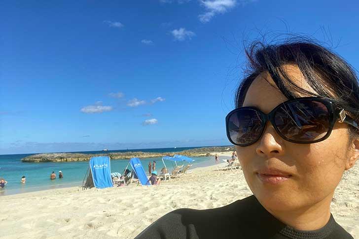 [バハマ]アトランティスのビーチ