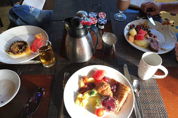 Atlantis Restaurant: Mosaic Breakfast