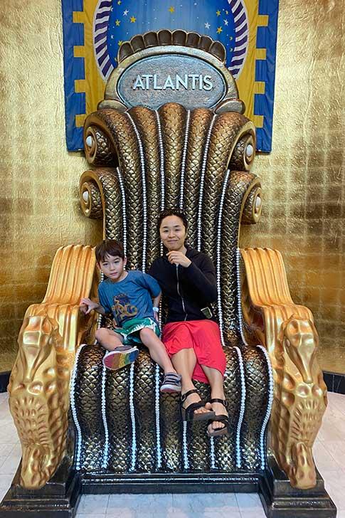 [バハマ]アトランティスの王様の椅子